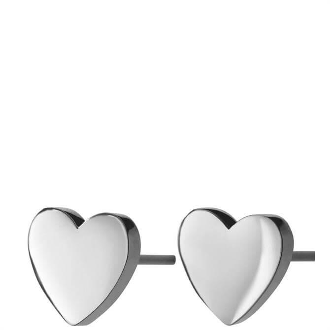 Edblad Pure Heart Stud Earrings