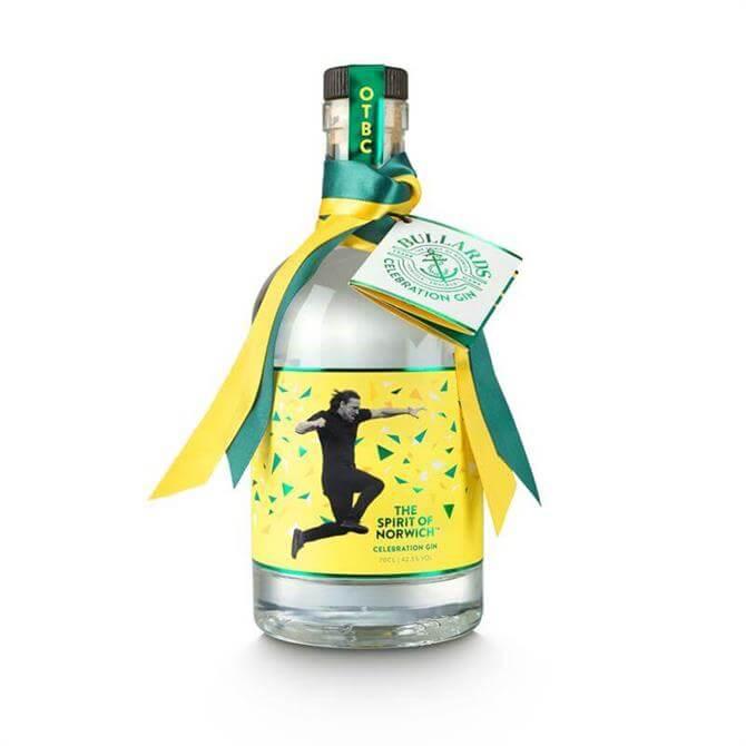 Bullards Norwich City FC Celebration Gin 70cl