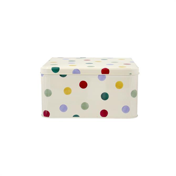 Emma Bridgewater Polka Dot Cake Tin: Square (Various)