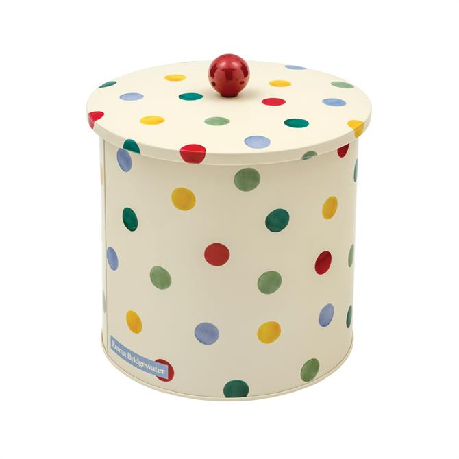 Elite Emma Bridgewater Polka Dot Biscuit Barrell