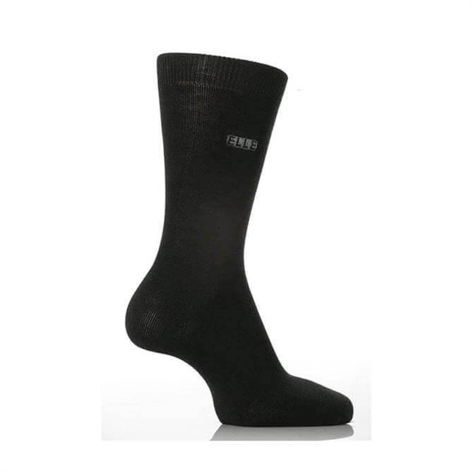 Elle Plain Bamboo Socks 2 Pair Pack