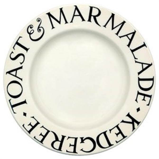Emma Bridgewater Black Toast 8.5in Plate
