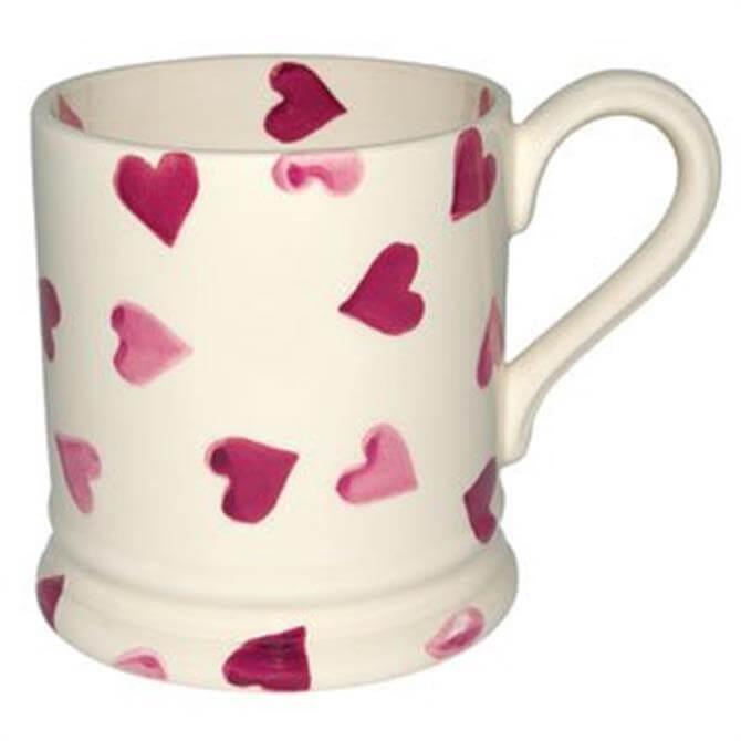 Emma Bridgewater Pinks Hearts Half Pint Mug