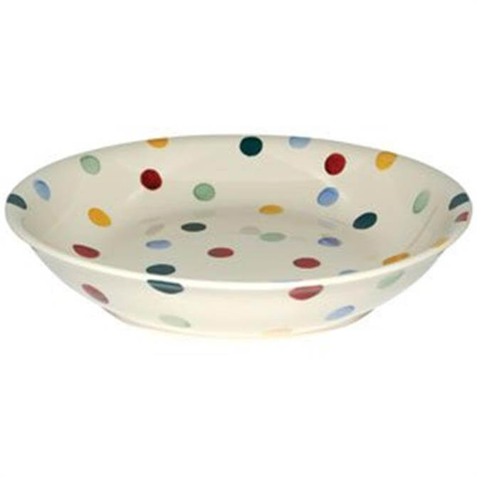 Emma Bridgewater Polka Dot Pasta Bowl: Medium