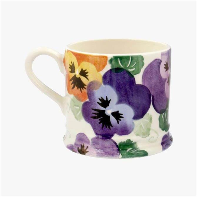 Emma Bridgewater Purple Pansies Mug: Small