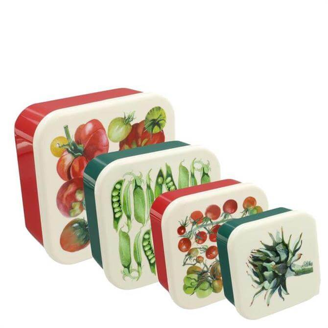 Emma Bridgewater Vegetable Garden Set of 4 Snack Boxes