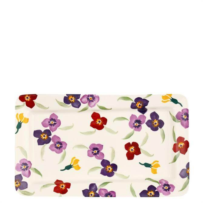 Emma Bridgewater Medium Wallflower Rectangle Plate