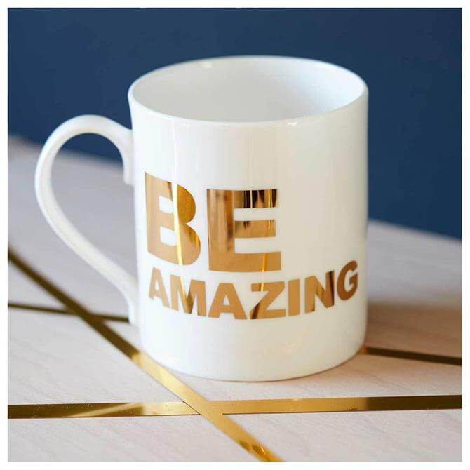 Catherine Colebrook Be Amazing Mug