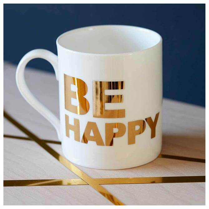 Catherine Colebrook Be Happy Mug