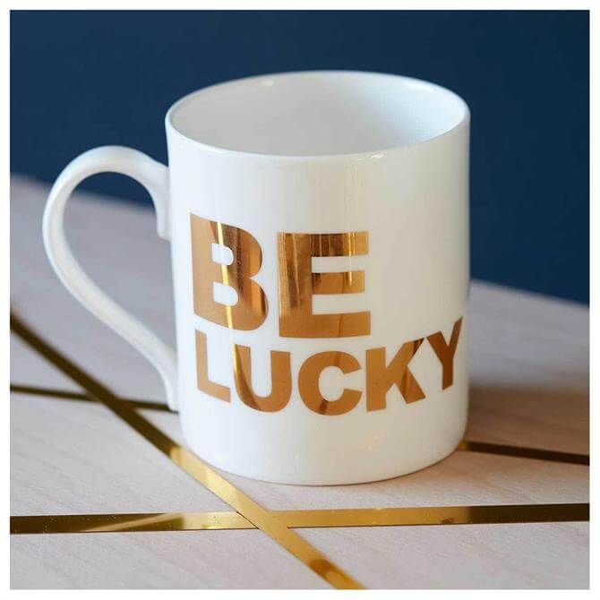 Catherine Colebrook Be Lucky Mug