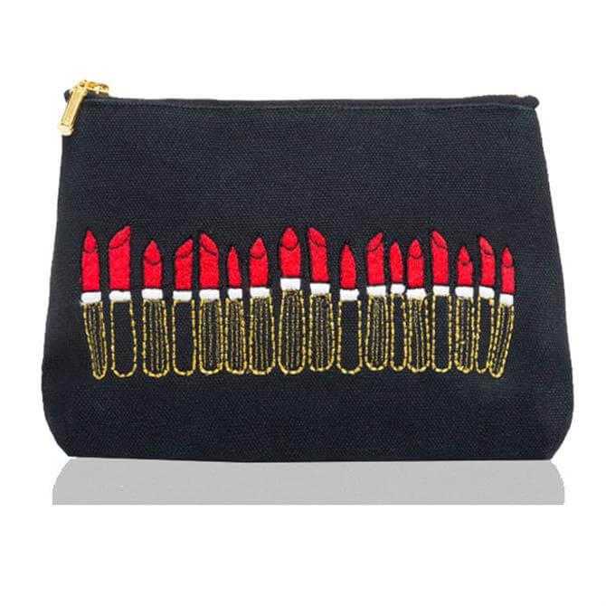 Emma Lomax Black Lipstick Make Up Bag
