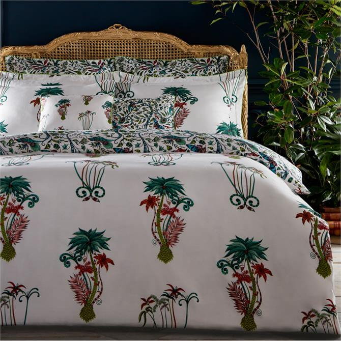 Emma J Shipley Jungle Palms Duvet Cover