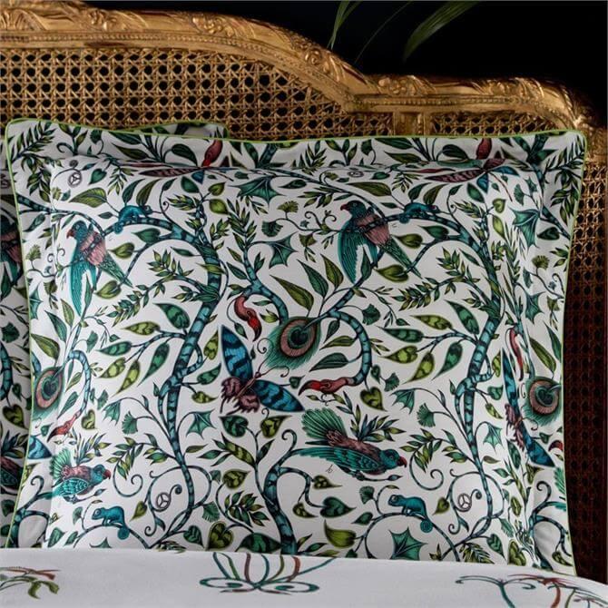 Emma J Shipley Jungle Palms Square Pillowcase