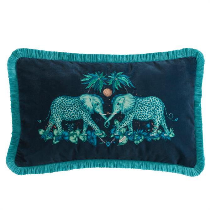 Emma J Shipley Zambezi Velvet Rectangular Cushion
