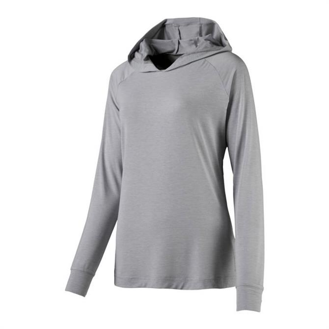 Energetics Women's Garanna 3 Fitness Hoodie Top - Grey