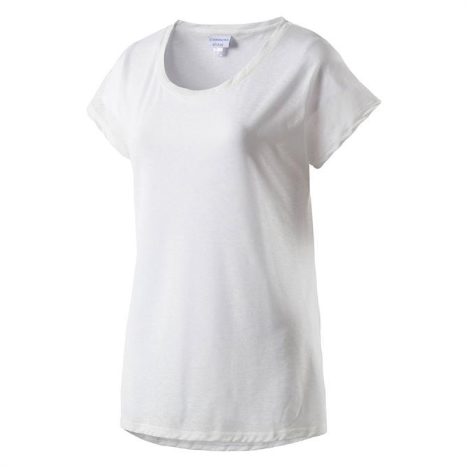 Energetics Women's Galinda Fitness Short Sleeve T-Shirt- White