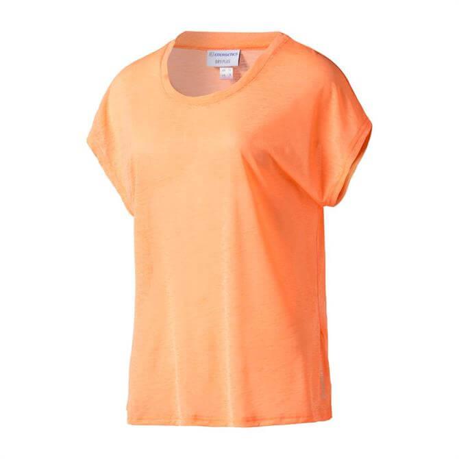 Energetics Women's Galinda 2 Short Sleeve Training Top - Orange