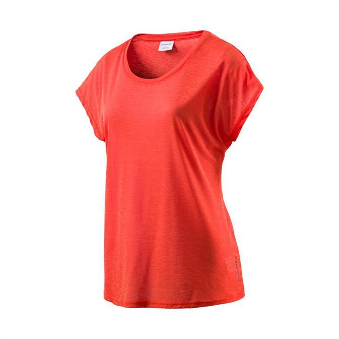 Energetics Women's Galinda Short Sleeve T-Shirt - Nasturtium