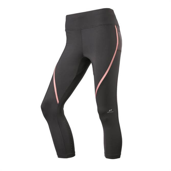 Pro Touch Women's Strike Fitness Leggings - Black