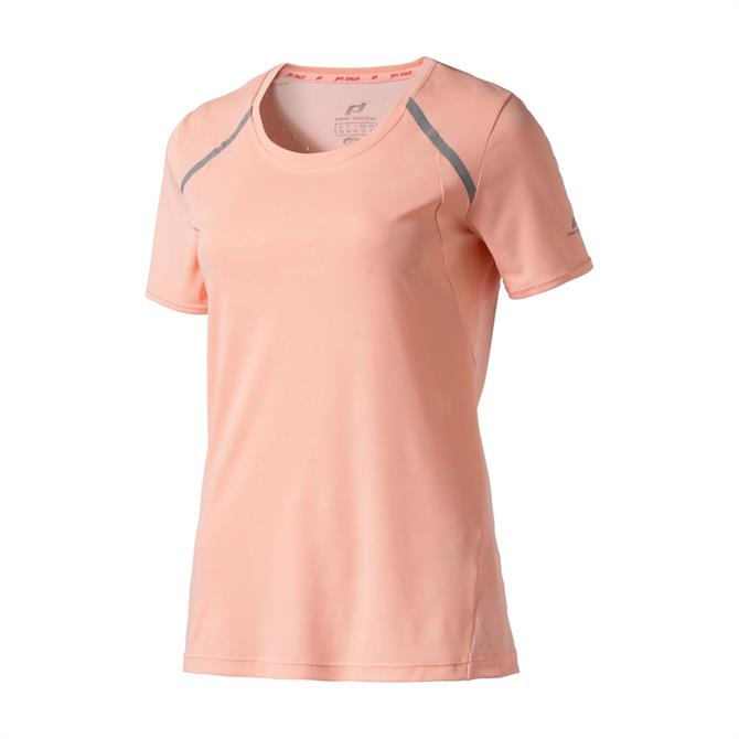Pro Touch Women's Osita Short Sleeve T-Shirt - Rose/Silver