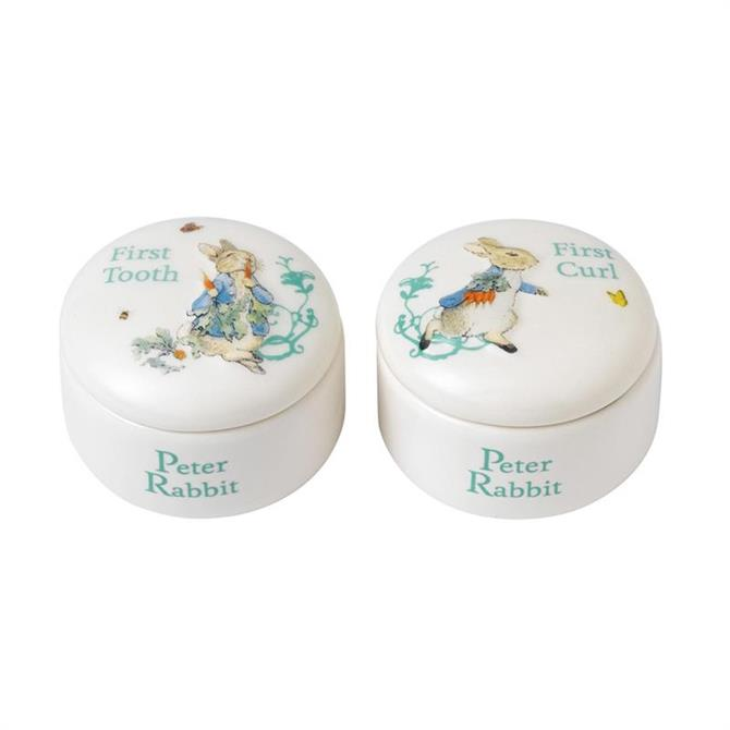 Beatrix Potter Peter Tooth and Curl Set