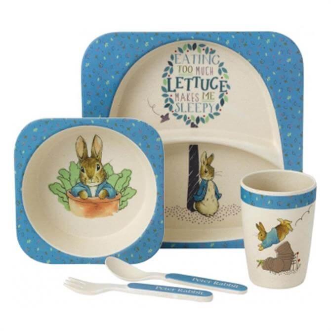 Enesco Peter Rabbit Organic Dinner Set