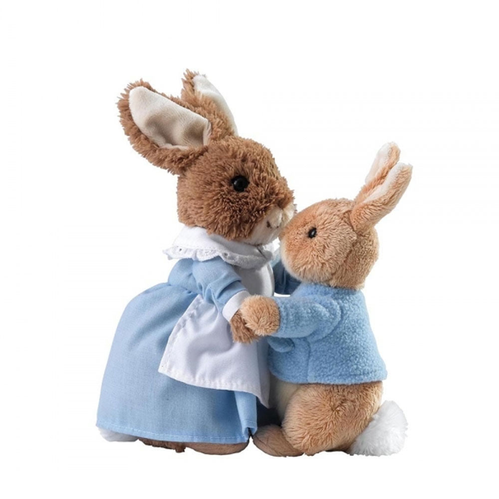 An image of Enesco Beatrix Potter Mrs Rabbit And Peter