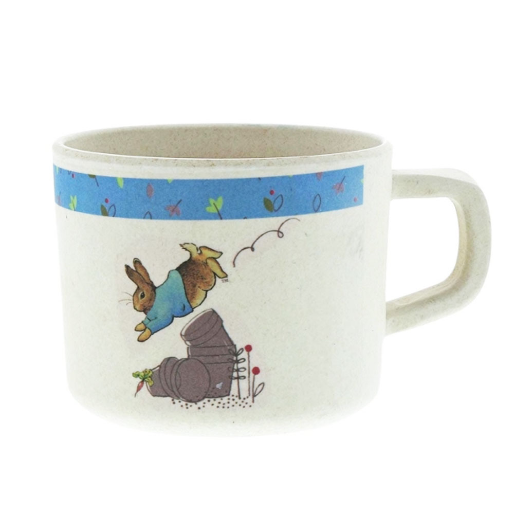 An image of Enesco Beatrix Potter Peter Rabbit Organic Mug