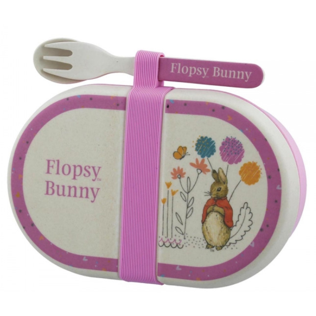 An image of Enesco Beatrix Potter Flopsy Snack Box