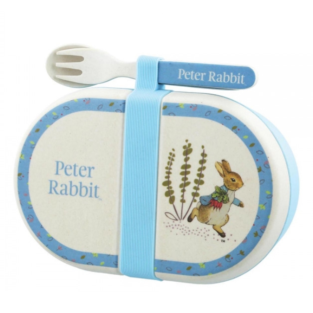 An image of Enesco Beatrix Potter Peter Rabbit Snack Box