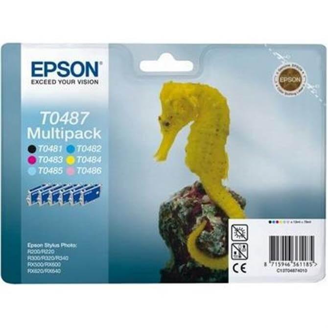 Epson T048x Multipack Seahorse