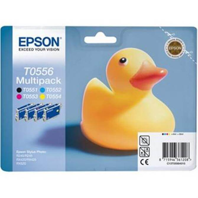 Epson T055x Multipack Rubber Duck