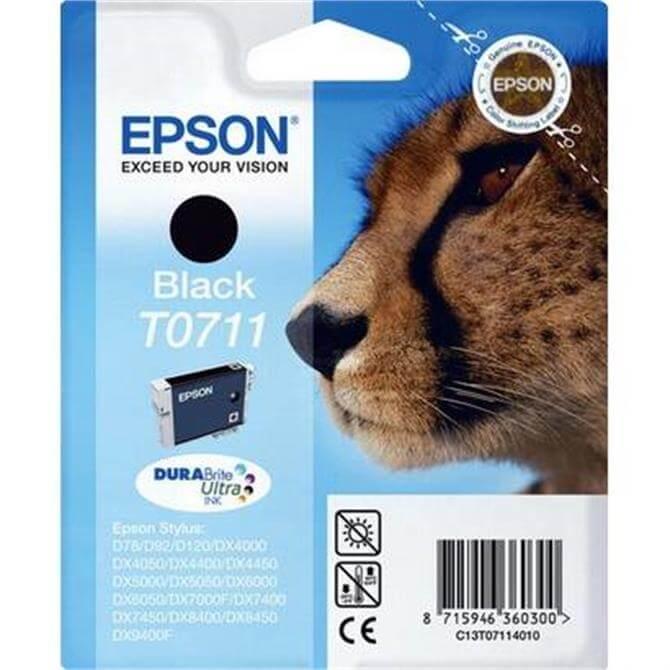 Epson T0711 Black Cheetah