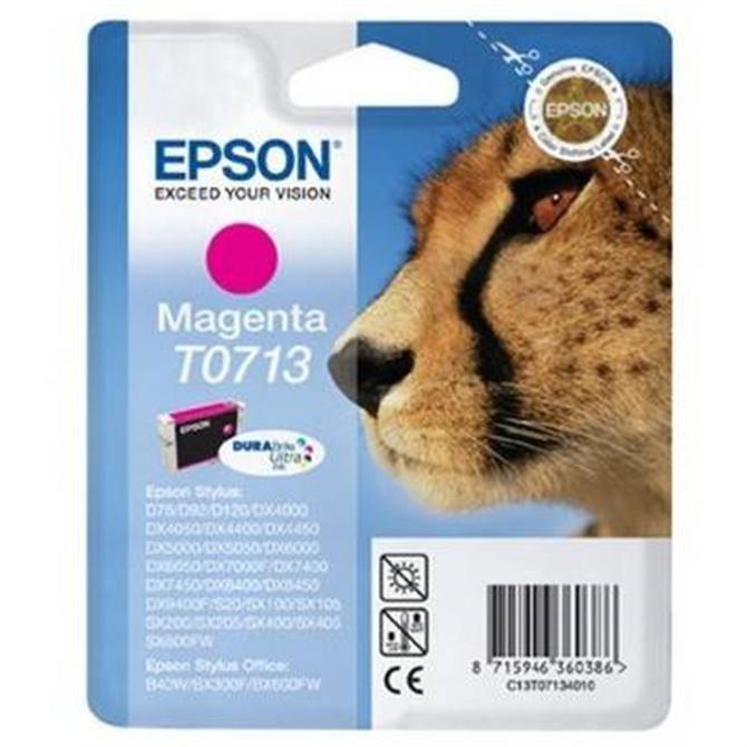 Epson T0713 Magenta Cheetah