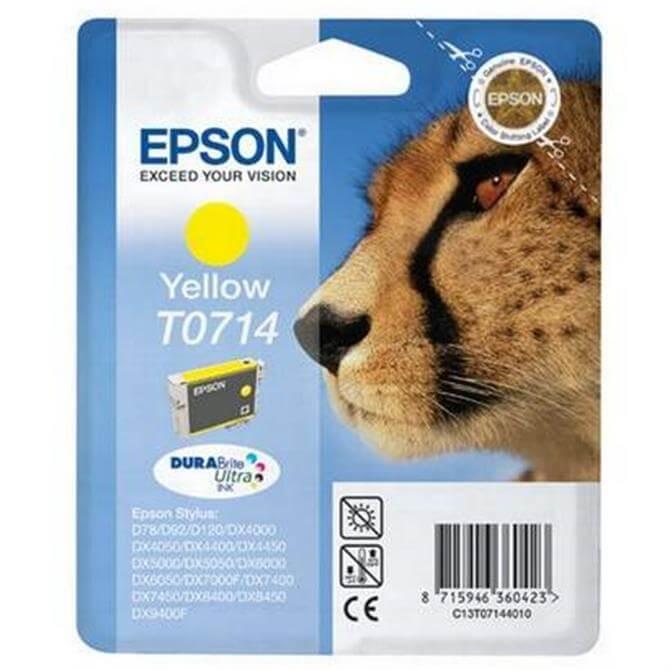 Epson T0714 Yellow Cheetah
