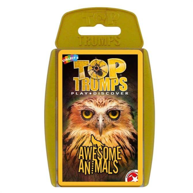 Winning Moves Top Trumps Awesome Animals