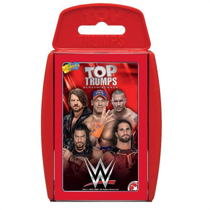 Winning Moves Top Trumps WWE