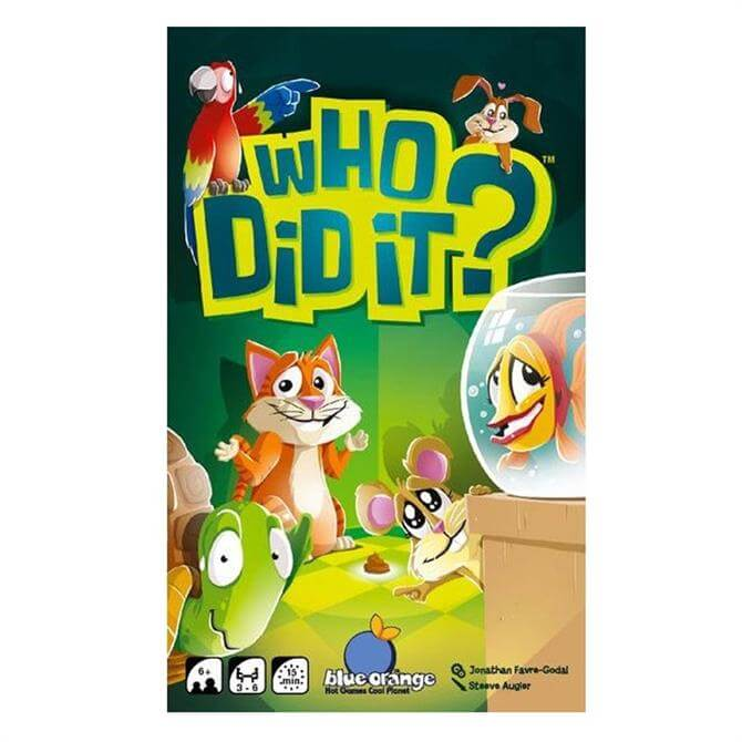 Who Did It? Card Game