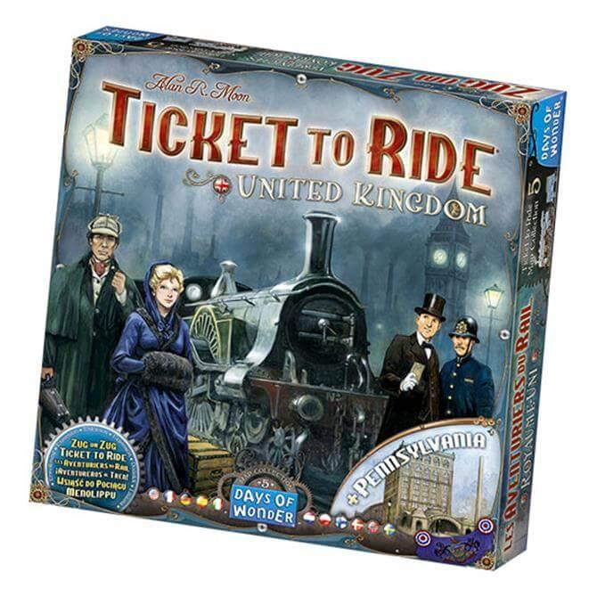 Esdevium Ticket to Ride UK Expansion