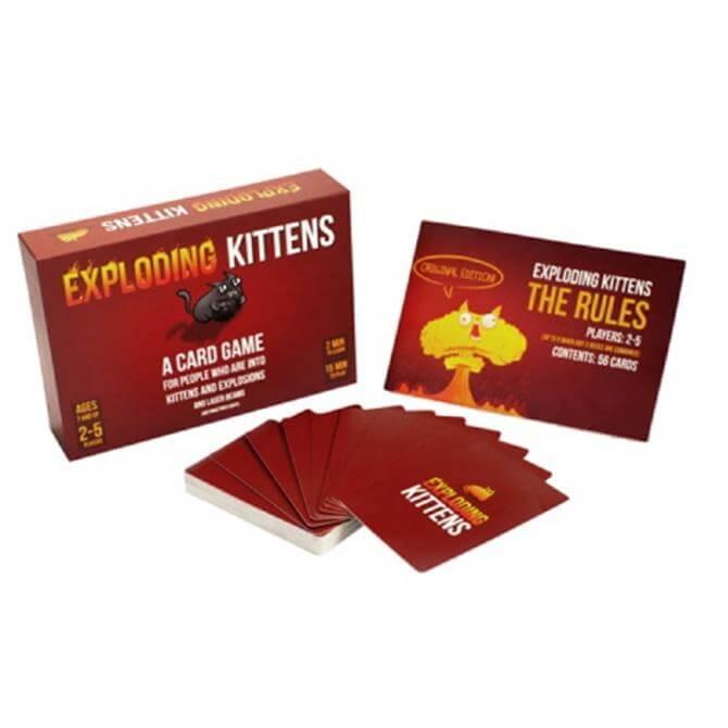 Esdevium Exploding Kittens Original Edition