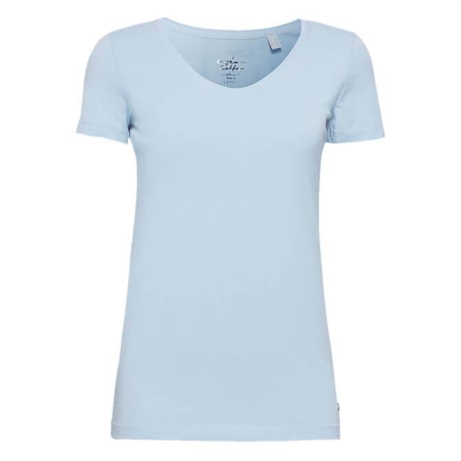 Esprit Stretch V-Neck T-Shirt