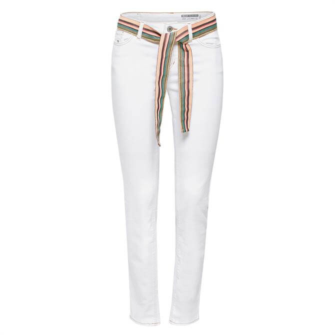 Esprit Jeans With Striped Belt