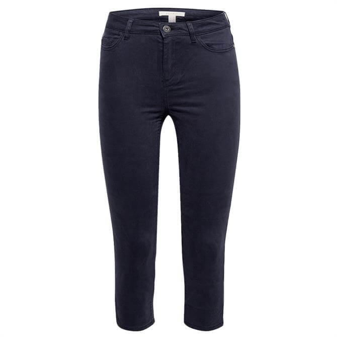 Esprit Summer Soft Stretch Navy Capris