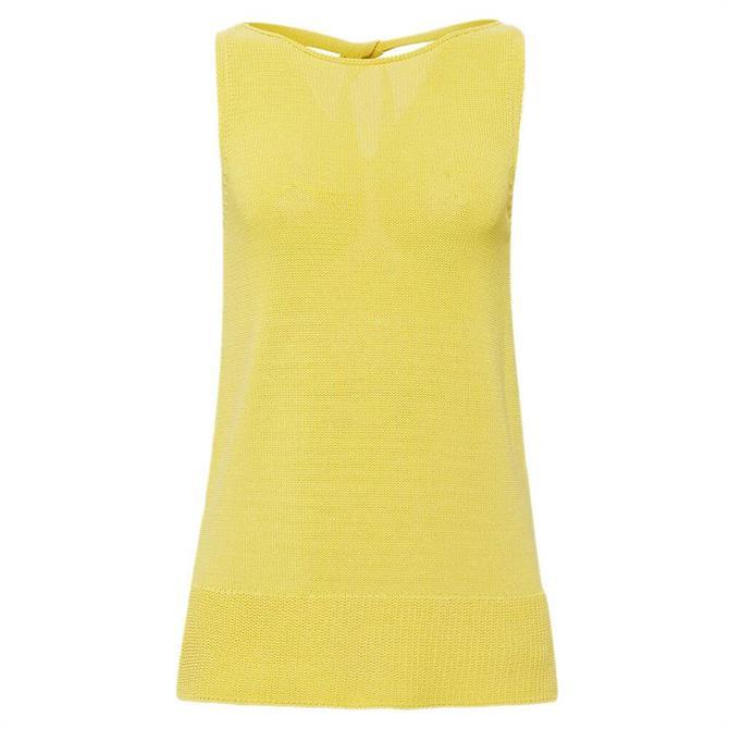 Esprit Knit Tie Back Sleeveless Top