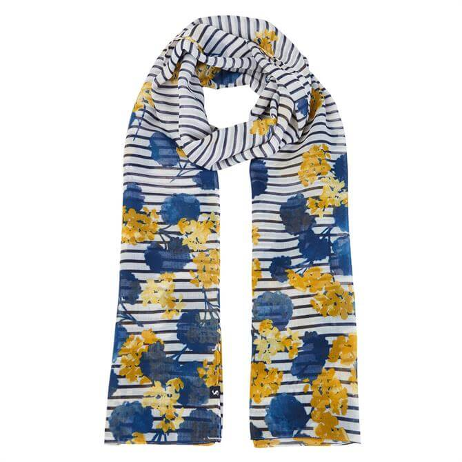 Joules Wensley Unique Printed Scarf