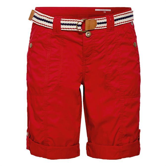 Esprit Belted Shorts