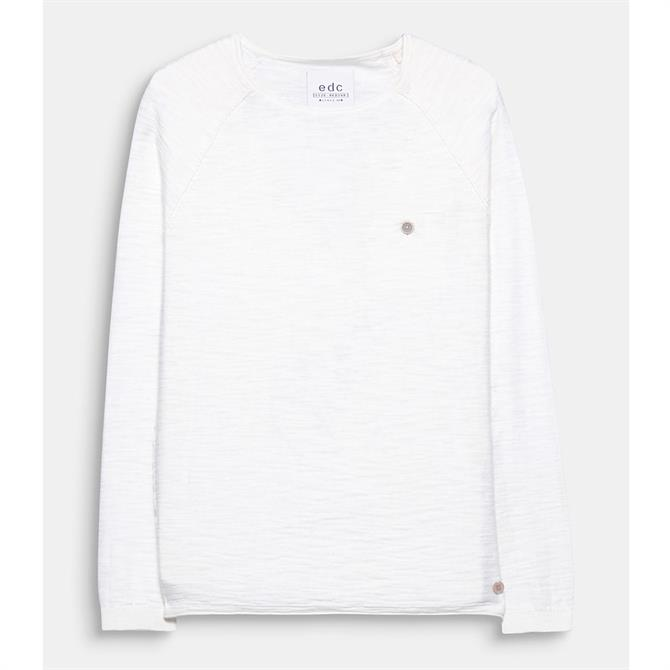 Esprit Slub Sporty Sweater