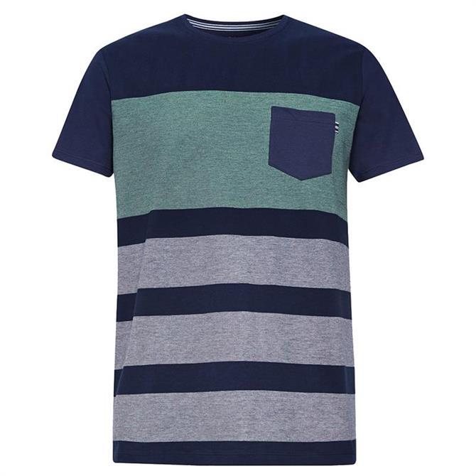 Esprit Men's Pique Block T-Shirt