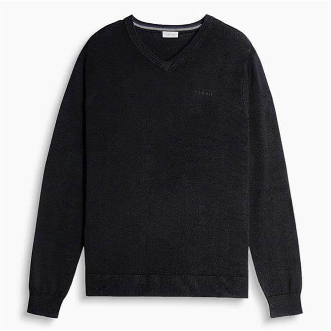 Esprit Fine Knit V-Neck Sweater