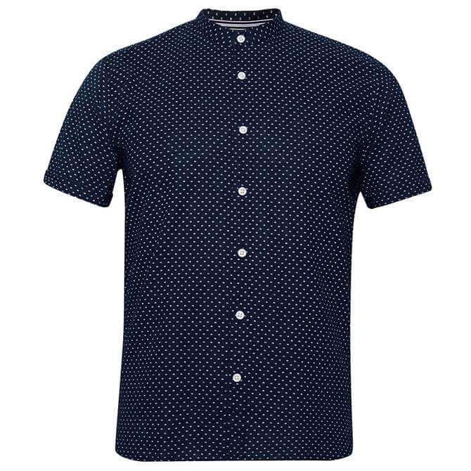 Esprit Linen Blend Short Sleeve Shirt